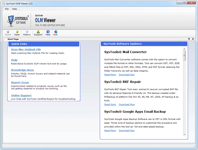 OLM Viewer FREE Tool to View OLM Files without MAC Outlook