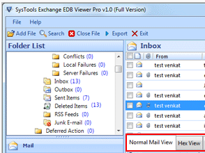 One click to preview EDB files for free
