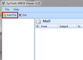 First step of How can I view MBOX Files
