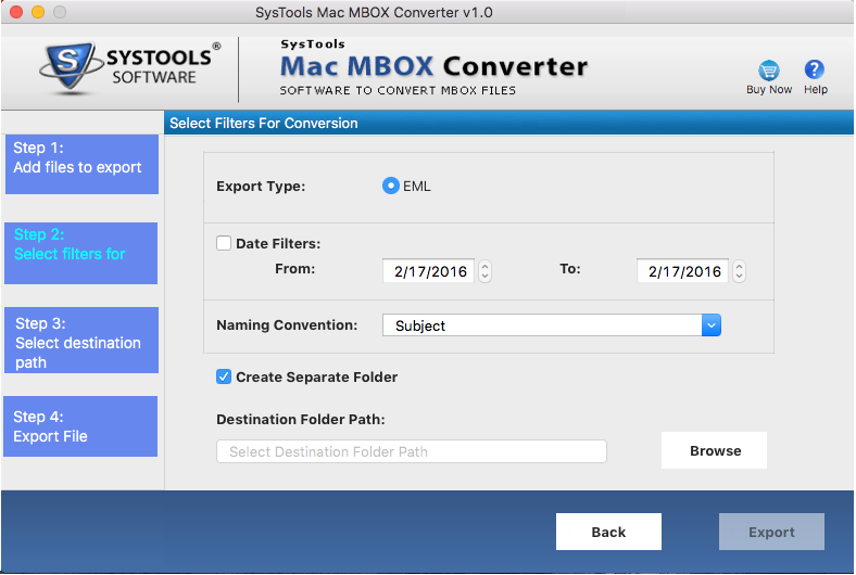 , mbox converter to eml